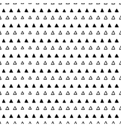 Abstract seamless triangles pattern vector