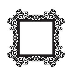 Vintage frame one vector