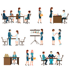 Business meeting design vector