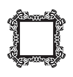 Vintage frame one vector