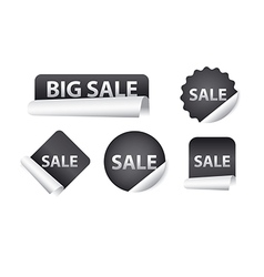 advertising sale stickers vector image