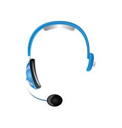 Headphone technology to listen and speak vector