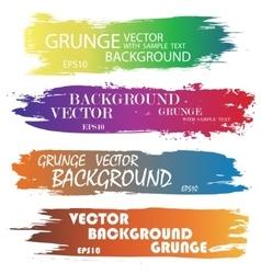 Ink blots splash color vector