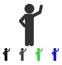 Child assurance flat icon vector