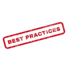 Best practices text rubber stamp vector