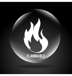 Flammable signal vector