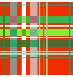 Tartan red seamless pattern vector image