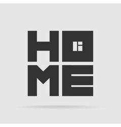 Symbol Home vector image