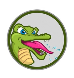 Crazy crocs vector