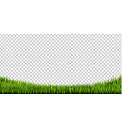 Grass border big set vector