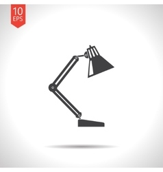 Table-lamp icon eps10 vector