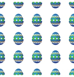Easter eggs seamless vector