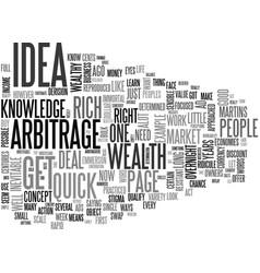A simple get rich quick idea text word cloud vector