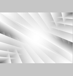 abstract geometric black and white color for vector image vector image