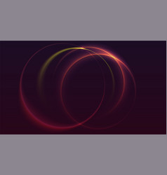 abstract ring background vector image vector image