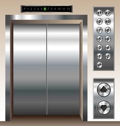 Elevator set vector
