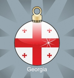 Georgia flag vector image vector image