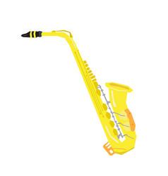 Isolated geometric saxophone vector