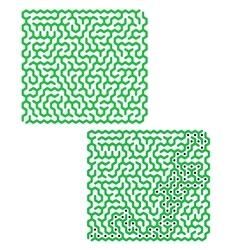 Labyrinth Kids Maze vector image vector image
