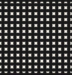 seamless pattern with small curved square shapes vector image vector image