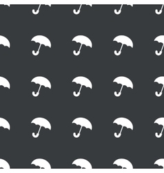 Straight black umbrella pattern vector