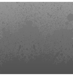 Monochrome grey dirty grunge splashes background vector