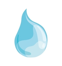 Blue drop icon water design graphic vector