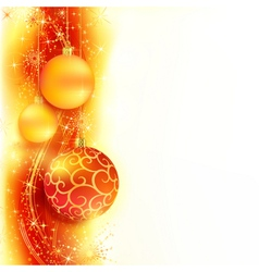 Christmas star border vector image vector image