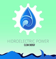 Clean energy vector image vector image