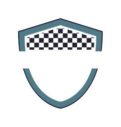 shield label banner design vector image vector image