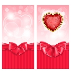 Valentine day background vector image