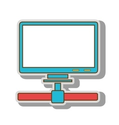 Computer host technology vector