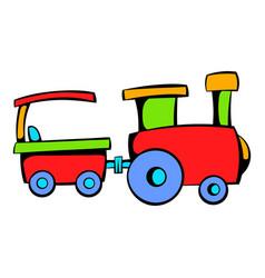 children train icon icon cartoon vector image