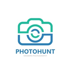Camera logo or symbol icon vector image