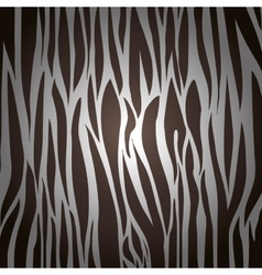 Animal print background design vector