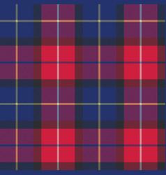 blue tartan pixel fabric texture seamless pattern vector image