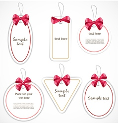Discount tags vector image