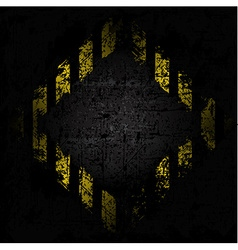 grungy background texture of old wall with diamond vector image vector image