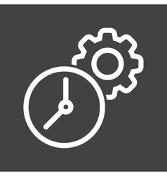 Time settings vector