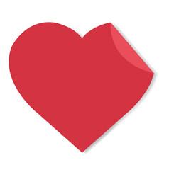 Happy valentines day label vector