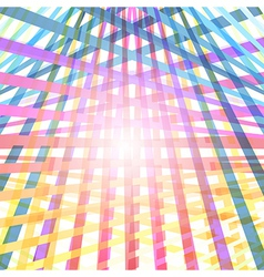 Light Abstract Colorful Arrows Background vector image