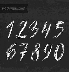 Chalk numbers vector