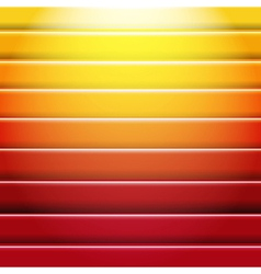 Orange And Red Background With Line vector image vector image