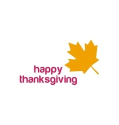 Thanksgiving day canada logo vector