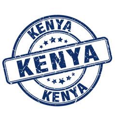 Kenya stamp vector