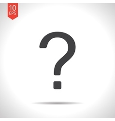 Question mark icon eps10 vector