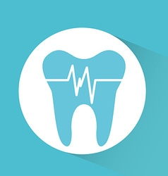 Dental care service vector