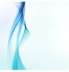 abstract motion smooth blue vector image