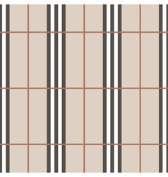 Tartan seamless pattern beige vertical vector