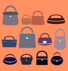 Bags for women vector